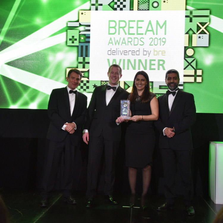 Unilever Global Foods Innovation Centre wint twee BREEAM Awards