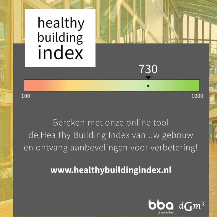 DGMR lanceert Healthy Building Index-tool